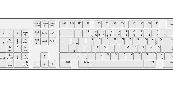 Keyboard Console Communication Computer Layout Pla