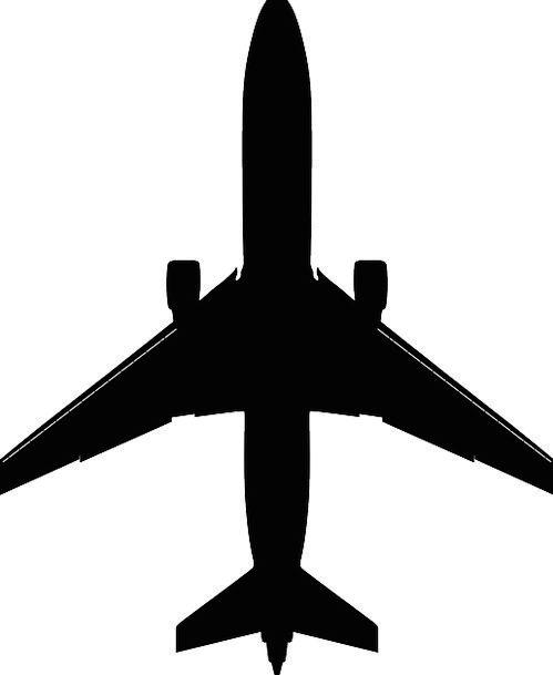 Airplane Aircraft Vacation Dark Travel Jumbo Overs