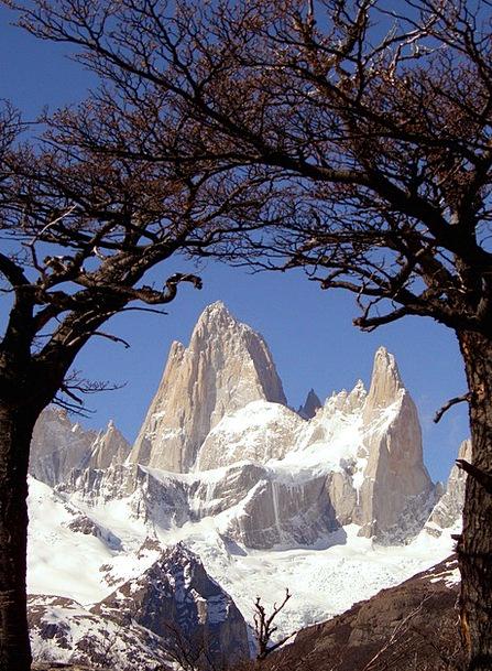 Patagonia Landscapes Nature Fitz Roy Argentina Pea