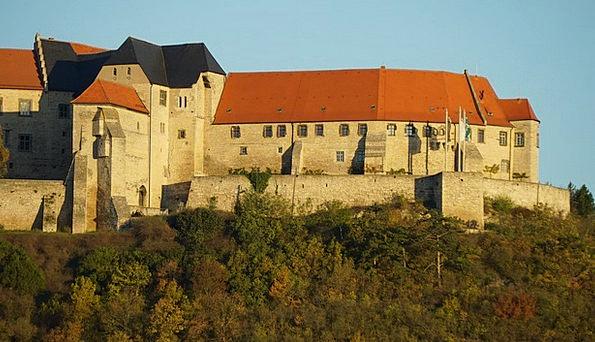 Schloß Neuenburg Fortress Saxony-Anhalt Castle Bur