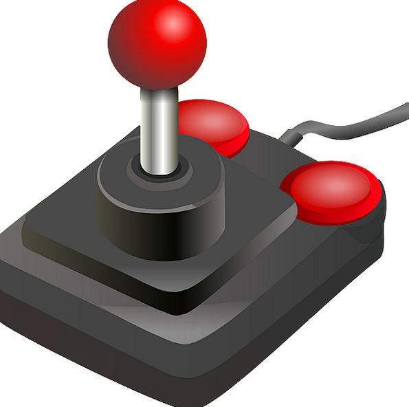 Joystick Stick Buttons Keys Game Controller Video