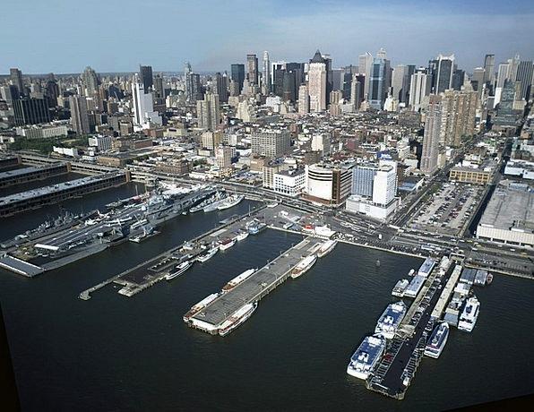 New York City Finance Business Cityscape Manhattan