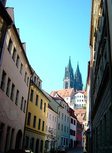 Meissen Towers Barbicans Dom Alley Backstreet Row