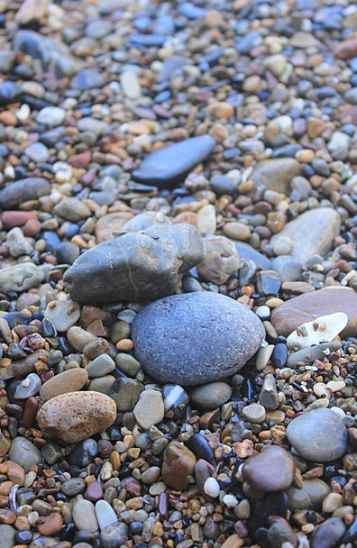 Beach Seashore Vacation Cobble Travel Stone Pebble