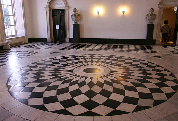 Chess Flooring Greenwich Black And White Floor Lon