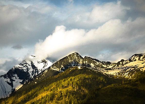 Kitzsteinhorn Landscapes Nature Kaprun Austria Mou