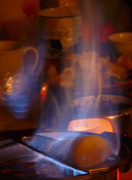 Feuerzangenbowle Passion Flame Blaze Fire Festival