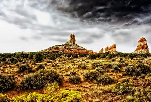 Arizona Landscapes Scenery Nature Scenic Picturesq