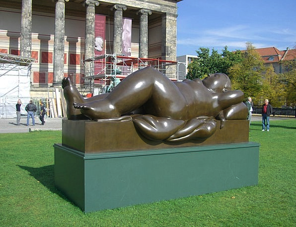 Botero In Berlin Pleasure Garden Bronze Sculpture