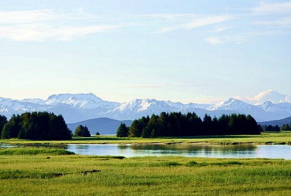 Alaska Chilkot Mountains Chilkat Mountains Alaska