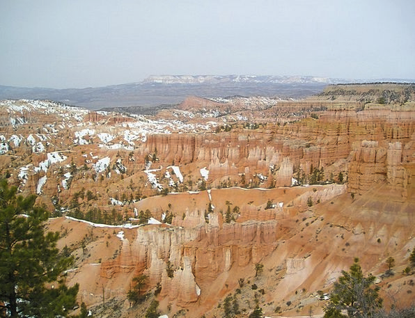 Bryce Canyon Gorge Valley Canyon Rock Pillar Natio