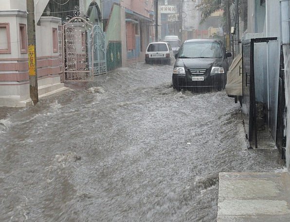 Flood Deluge Traffic Aquatic Transportation Street