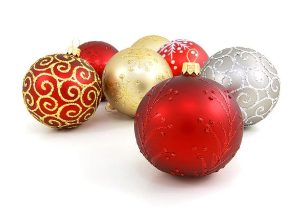 Balls Spheres Trinkets Celebration Festivity Baubl