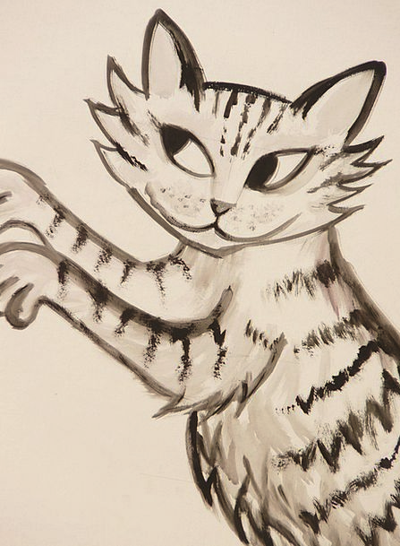 Cat Feline Talon Drawing Sketch Claw Image Copy Ar