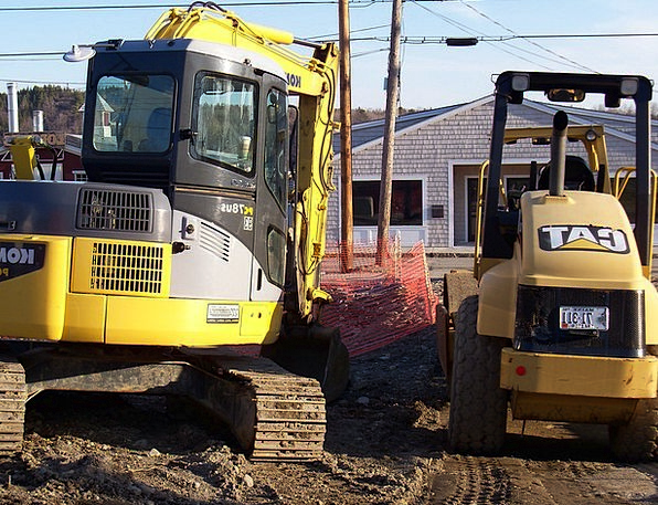 Heavy Equipment Construction Site Construction Equ