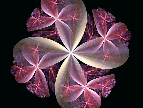 Kaleidoscope Phantasmagoria Textures Floret Backgr