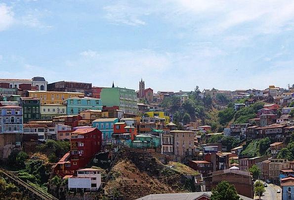 Chile Landscapes Nature South America Valparaiso V