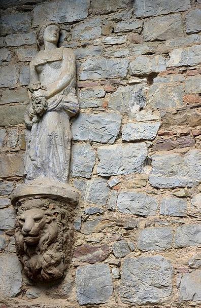 Statue Figurine Stone Pebble Fig Sculpture Wall De