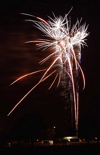 Fireworks Rockets Fire New Novel Bonfire Year Day