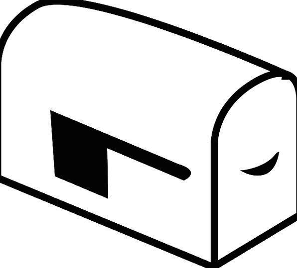 Mailbox Postal Correspondence Mail Free Vector Gra