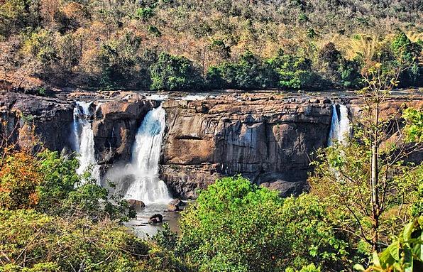 Waterfall Cascade Athirappilly Panchayath Athirapp