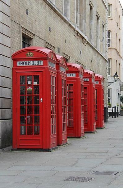 Red Phone Box Telephone Phone London Telephone Box