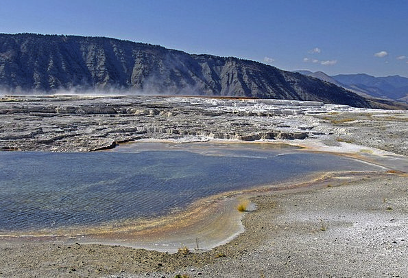 Yellowstone National Park Usa Wyoming Water Aquati