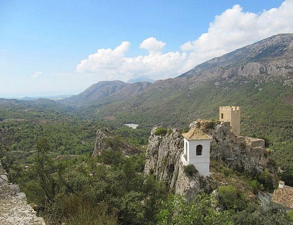 Guadalest Landscapes Fortress Nature Landscape Sce