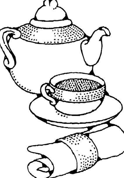 Tea Service Tea set Coffee Pot Teapot China Teacup