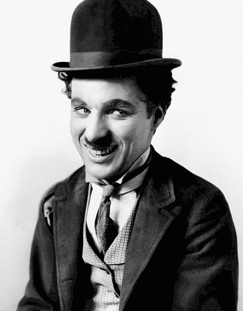 Charlie Chaplin Performer Comedian Comic Actor Cel