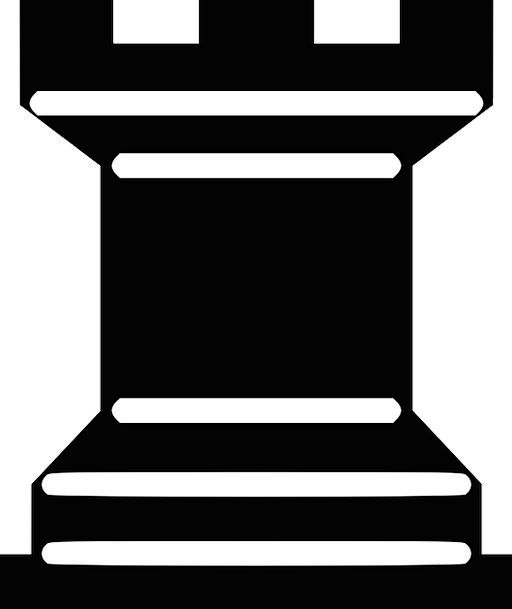 Chess Meeple Rook Match Black Dark Play Game Think