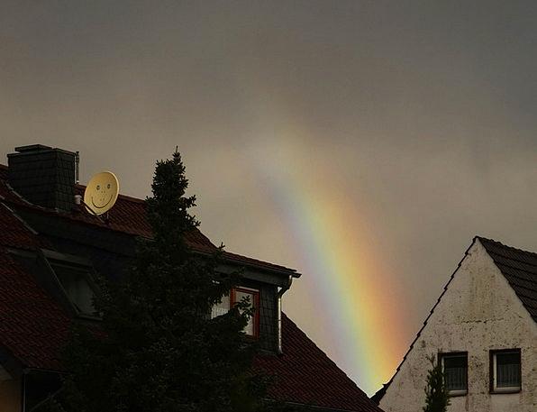 Rainbow Multicolored Interesting Color Hue Colorfu