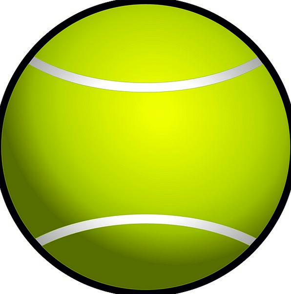 Tennis Ball Diversion Racket Row Sport Free Vector