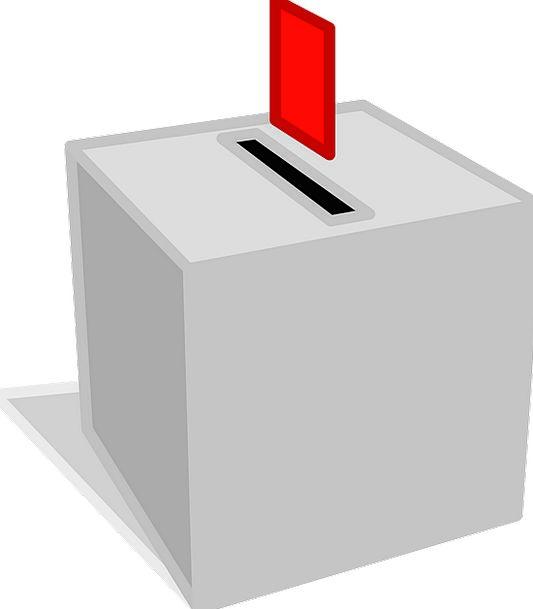 Ballot Container Vote Box Polling Voting Elective