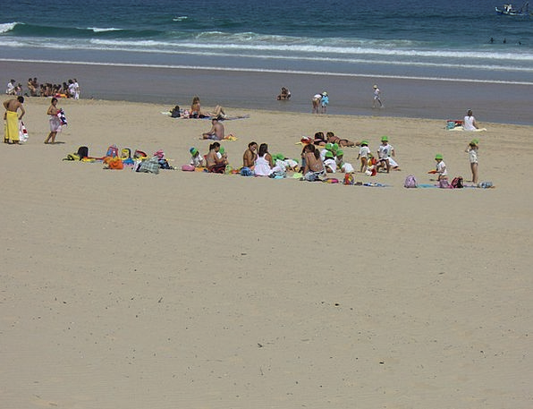 Beach Seashore Vacation Travel Portugal Caparica C