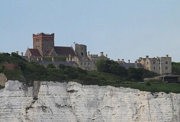 Dover Landscapes Nature Dover Castle White Cliffs