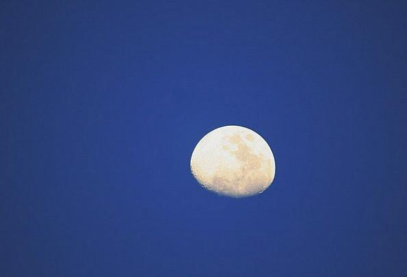 Moon Romanticize Sky Blue Luna Universe Lunar Luna
