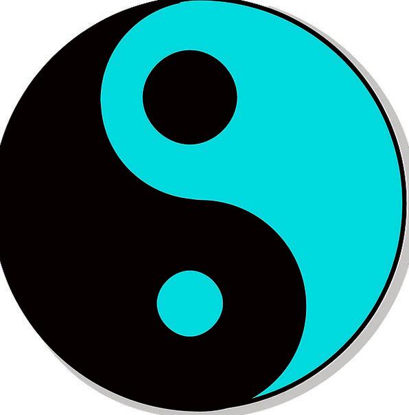 Yin Taoism Yang Harmony Chinese Symbol Religion Religious