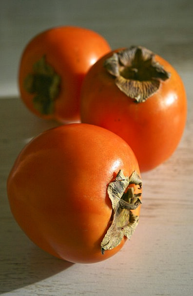 Persimmon Drink Ovary Food Tropical Hot Fruit Oran