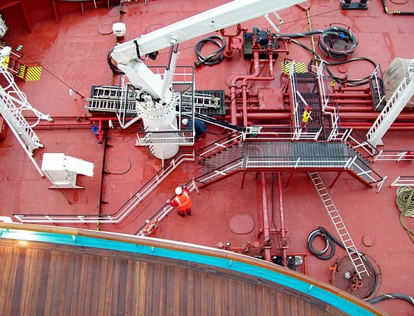 Ship Vessel Traffic Gears Transportation Deck Leve