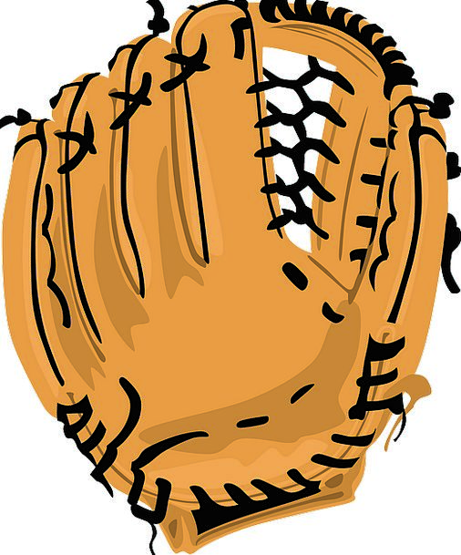 Baseball Gloves Ornaments Glove Leather Skin Brown
