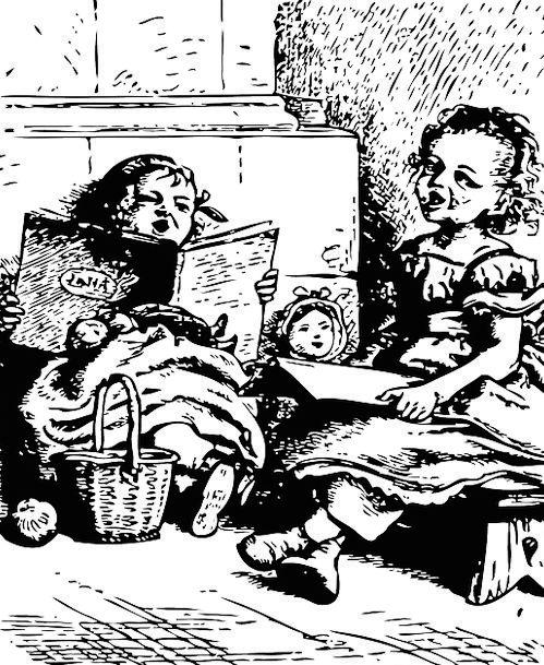 Children Broods Childhood Infantile Kids Cheerful