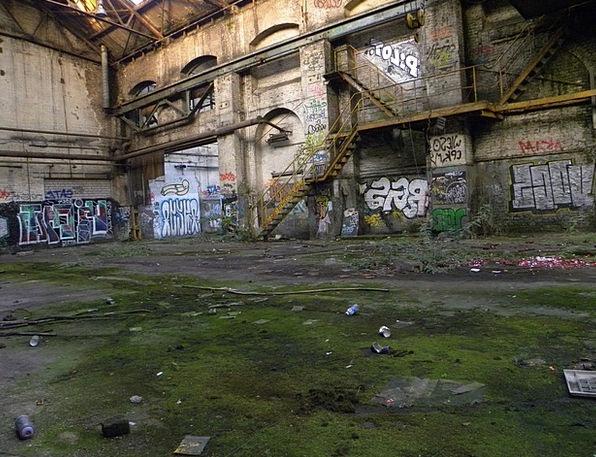 Factory Sweatshop Stage Decay Deterioration Age Le