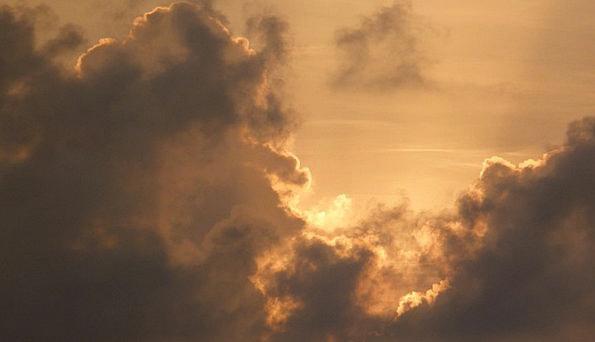 Sunrise Dawn Heavens Sky Blue Skies Clouds Vapors