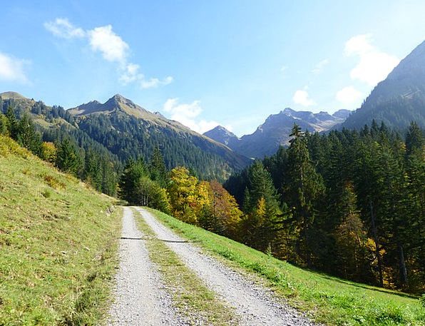 Away Absent Landscapes Track Nature Hiking Mountai