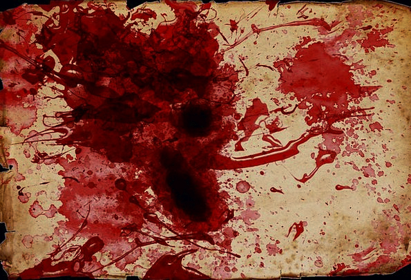 Blood Spatter Textures Gore Backgrounds Scroll Doc