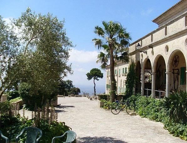 Mallorca Landscapes Cloister Nature Randa Monaster