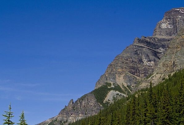 Rocky Mountains Landscapes Nature Mountain Crag Ba