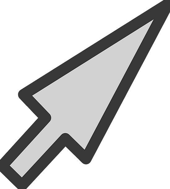 Cursor Cane Mouse Pointer Selection Assortment Ico