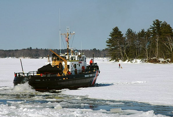 Kennebec River Landscapes Nature Coast Guard Maine
